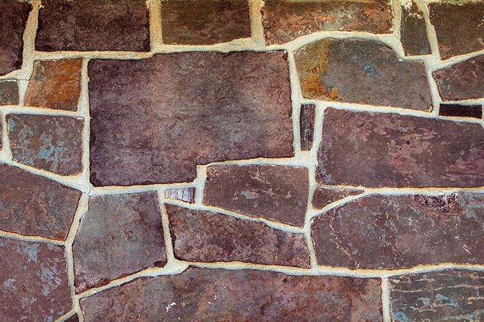 Purple Brick Rock